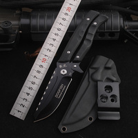 HX OUTDOORS Outdoor Portable survival Gear knife multi scissors Senior D2 blade high hardness KNIFE cool knives good knives