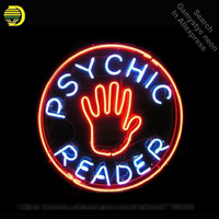 Leitor psíquico Sinal de Néon luzes Sinal lâmpada de néon Tubo de Vidro Real neon Recreação clube Pub Sinal Anunciar Icônico personalizado
