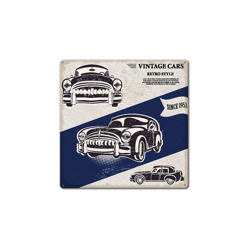 Image 5 - Filling Station Garage Repair Service Car Vintage Club Metal Tin Sign Retro Home Wall Art Decor Iron Poster for Bar PubTire Shop-in Plaques & Signs from Home & Garden