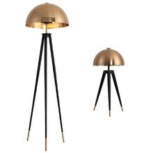 Lámparas de pie de tres macetas de estilo nórdico esmerilado con luces y setas para el estudio de la sala de estar y el dormitorio Northern Europe Post Modern Office Nordic Frosted LED
