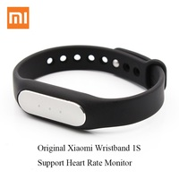 100 Original Xiaomi Mi Band 1S Smart Wristband Heart Rate Pulse Monitor Pedometer Sport Activity Tracker