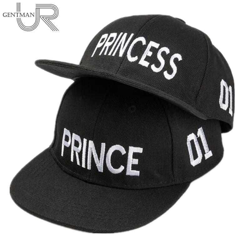 Hot Sale PRINCE PRICESS Embroidery Snapback Hat Acrylic Boys Girls   Baseball     Cap   Children Gifts Kids Hip-hop   Caps