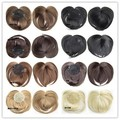 8 Colors+Free Shipping Top Closure Hair Fringe Bang Hair Bangs Extension Blonde Bang Synthetic Hair Piece False Hair 40G