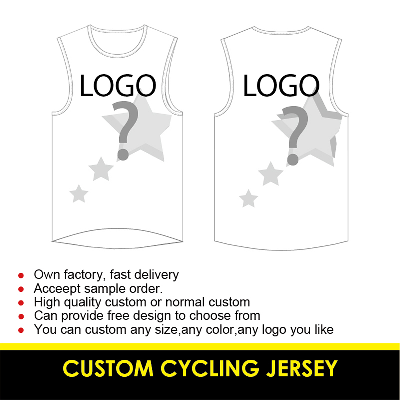 TERENK Custom Cycling Vest Quick Dry Sleeveless Jersey Ropa Ciclismo Cycling Gilet Any LOGO/Color/Size/Text