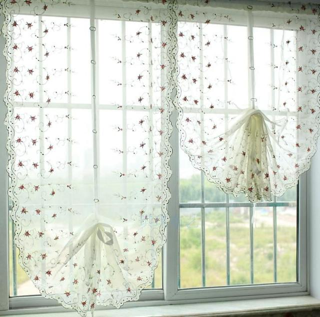 su0026v hot ikea balloon curtains litre fall shade finished curtain for living room roman blinds