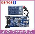 Nuevo 2014. R2/2015. Software R1 Nueva vci con Bluetooth TCS CDP Pro Plus mejor DOS PCB Chip genérico 3 para Los Carros de Los Coches OBD2 OBDII