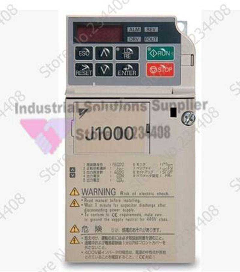 все цены на  Inverter CIMR-JBBA0002 J1000 Series Single Phase 0.2kw Small New  онлайн