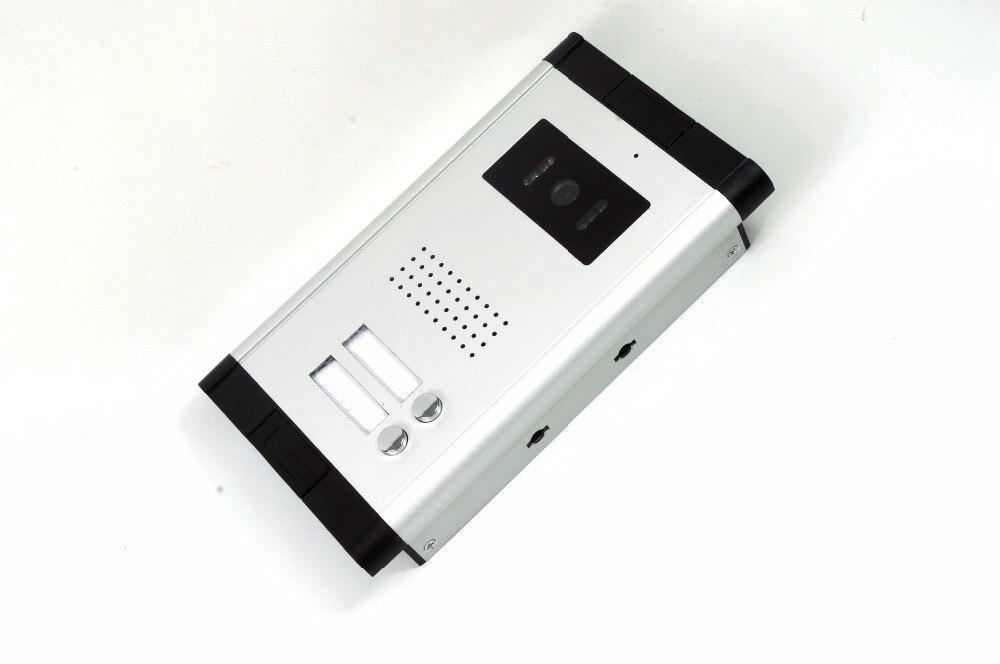 Due Tasti Telecamera Esterna Per La Ha Fissato il Video Telefono Del PortelloDue Tasti Telecamera Esterna Per La Ha Fissato il Video Telefono Del Portello