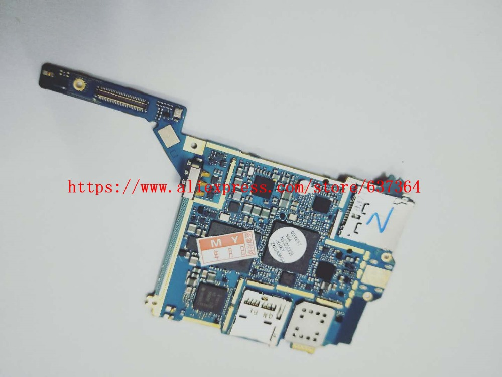 90%new main circuit board motherboard PCB Repair Parts for Samsung GALAXY S4 Zoom SM-C101 C101 Mobile phone image