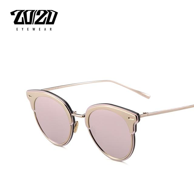Frau Sonnenbrille Mode Sonnenbrille Retro-Laufbrille Schwarzer Rahmen Blau Linse C58 HQAhNbMM