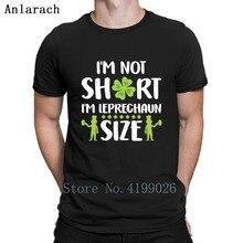 8a645ad14 I'M Not Short I'M Leprechaun Size Irish Design T Shirt Cute Design