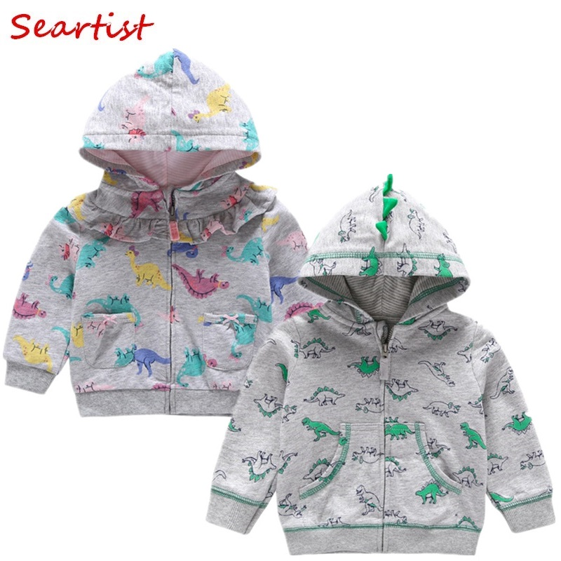 Seartist Bebes Hoodies Baby Girls Boys Hooded Sweatshirt Kids Newborn Outfit Girl Clothes 2019 New 25