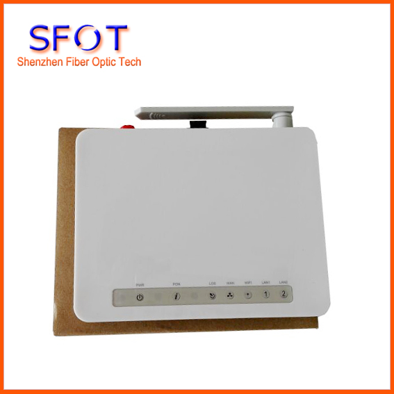 Network Routers Telecom Equipment SFOT-2307 (2+wifi) GPON ONT/HGU, comply with ZTE and Fiberhome OLT