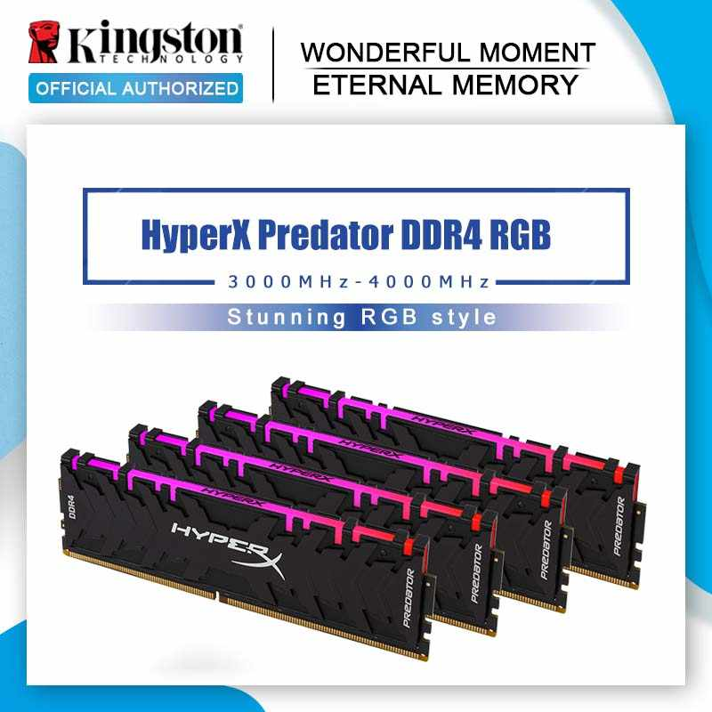 Kingston HyperX Predator Black 8GB 16GB 3000MHz DDR4 CL15 DIMM XMP HX430C15PB3/16 Memoria Ram ddr4 for Desktop Memory Rams