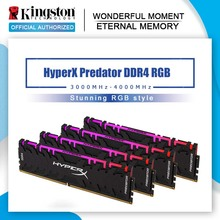 Kingston Memoria Ram DDR4 para ordenador de escritorio HyperX Predator, 8GB, 16GB, 3000MHz, ddr4, CL15, DIMM, XMP, HX430C15PB3/16