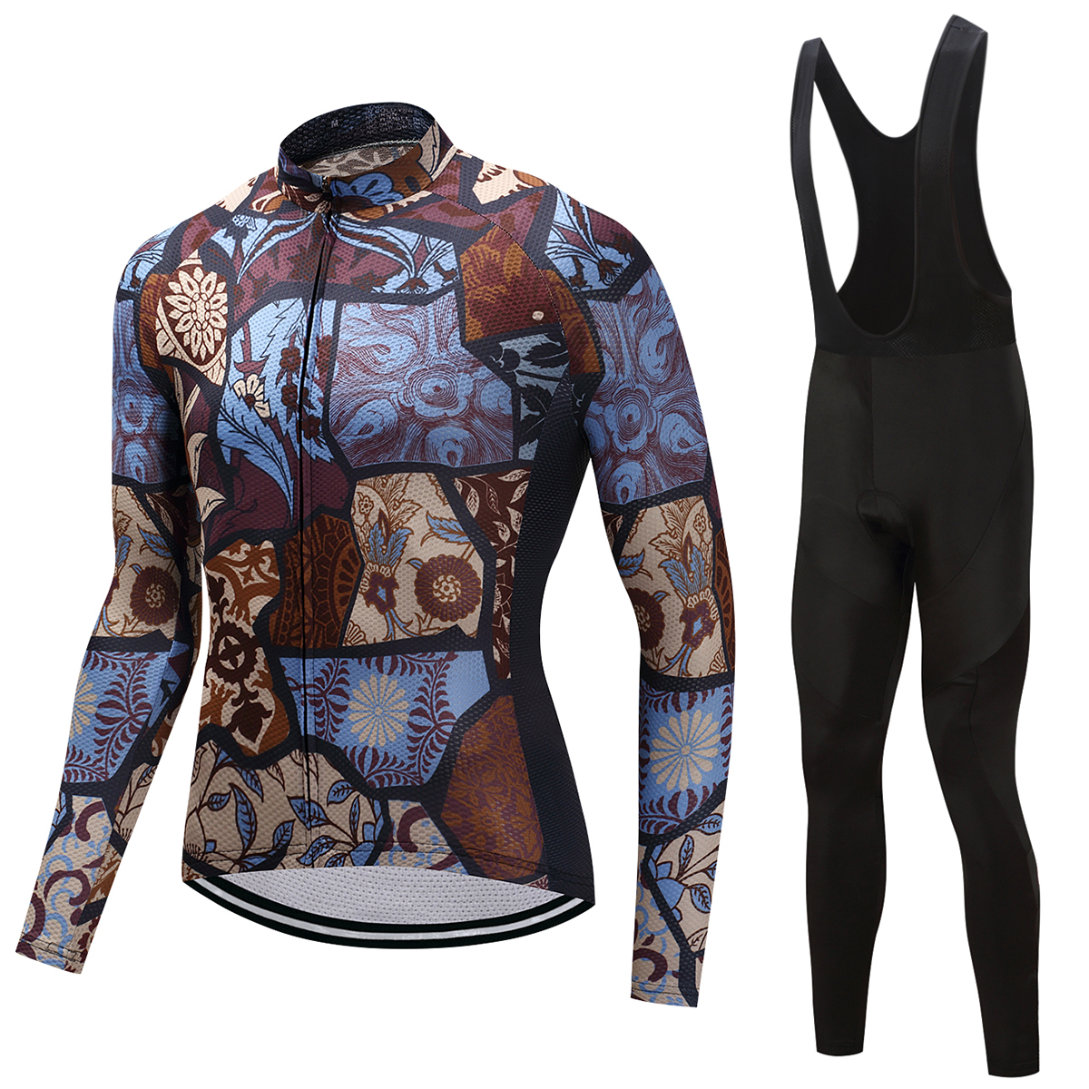 FUALRNY 2018 Pro Flier Winter Thermal Fleece Cycling Jersey Set Long Sleeve Bicycle Clothing MTB Bike Wear Maillot Ropa Ciclismo