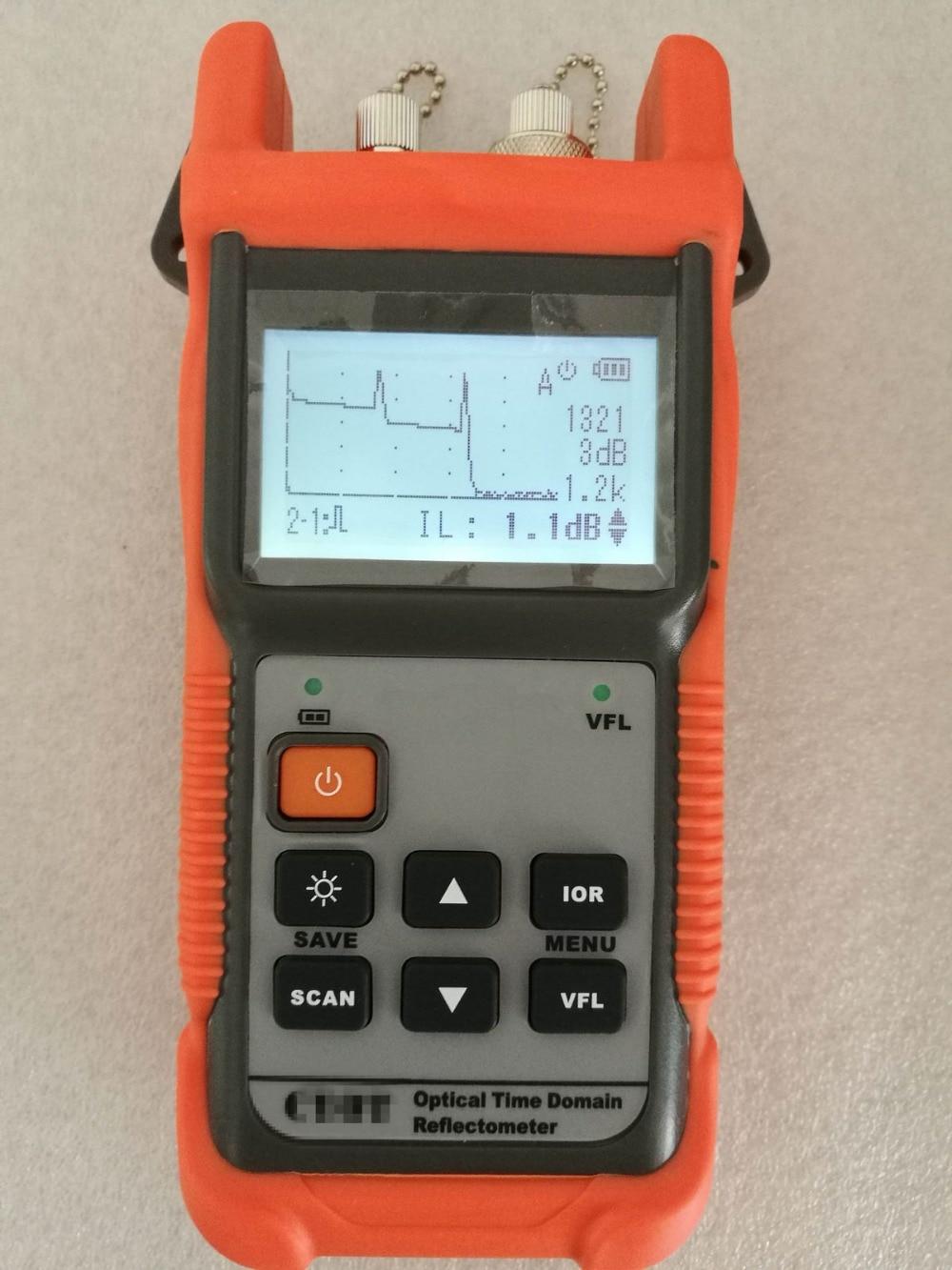 Optical Fiber Ranger MINI OTDR 12dB Fiber find fault tester 1310/1550nm +1mW VFLOptical Fiber Ranger MINI OTDR 12dB Fiber find fault tester 1310/1550nm +1mW VFL