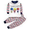 Agasalho quente para a menina do menino conjunto de roupas de inverno pullover bebê pijama calça térmica set 1 2 3 4 anos crianças roupas de inverno