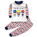 Warm track suit for a boy girl clothes winter set pullover baby thermal pajama pant set 1 2 3 4 years children's winter clothing