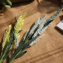 1 pc Artificial European Lavender Beautiful PE Fake Flowers