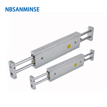 NBSANMINSE CXSW 32mm Dual Rod Cylinder Double Pneumatic Compressed Air Parts SMC Type