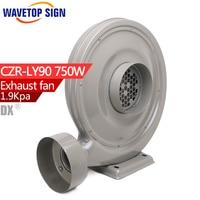 Copper Medium Pressure Centrifugal Fan Blower Vacuum Suction Etc Laser Engraving Machine Fan 750W