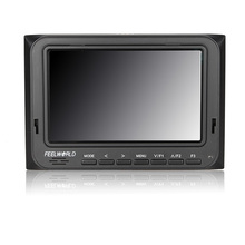 Feelworld Official Store 5 6 Lightweight 1280x800 Portable Camera Top Field Monitor with Peaking Focus FW56D