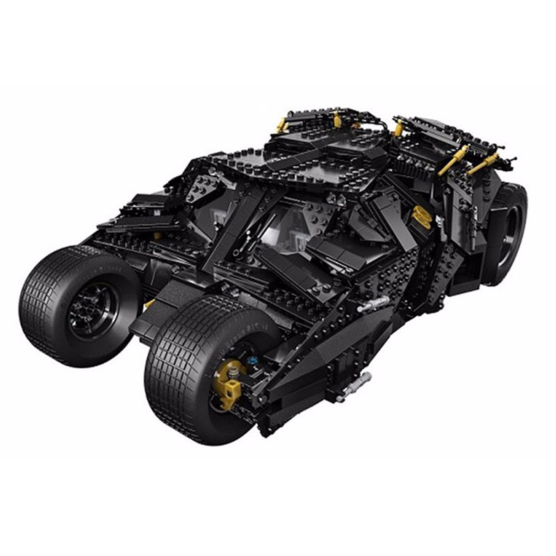 7111 1869pcs Super Hero Batman The Tumbler set Building Bricks Blocks Compatible with 07060 34005 76023 Toys 1869pcs batman decool 7111 dc the tumbler joker model building blocks boys bricks toys superman compatible with lego