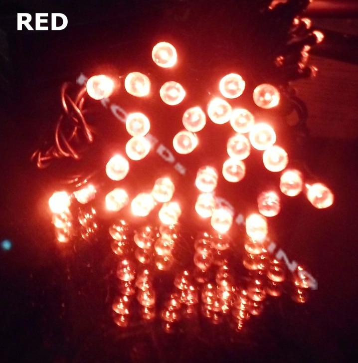 2 PAK 8 metara 60 LED xmas svjetlo odmor svjetlo festival svjetlo - Rasvjeta za odmor - Foto 4