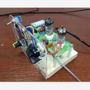 Image 2 - Наборы радиочастотной модуляции для желчного пузыря, две лампы FM, Электронная трубка Супер регенерации, рожковый привод 6J1 + 6J1