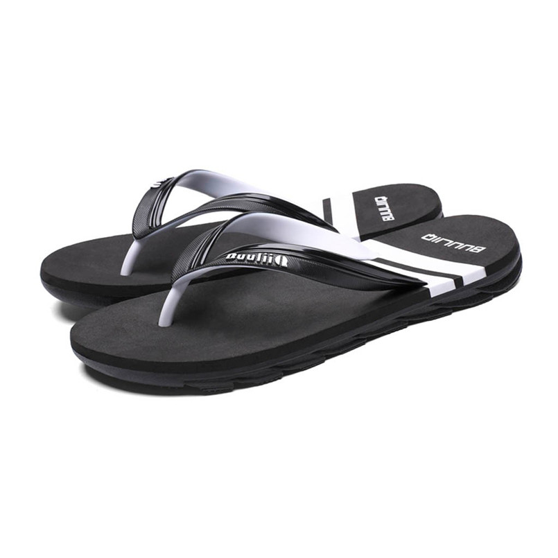 Men Summer Flip Flop Slipper Sandal Casual Outdoor Non-Slip Beach Slipper Shoes Mans footwear terlik kapcie Slides 40jy10(China)