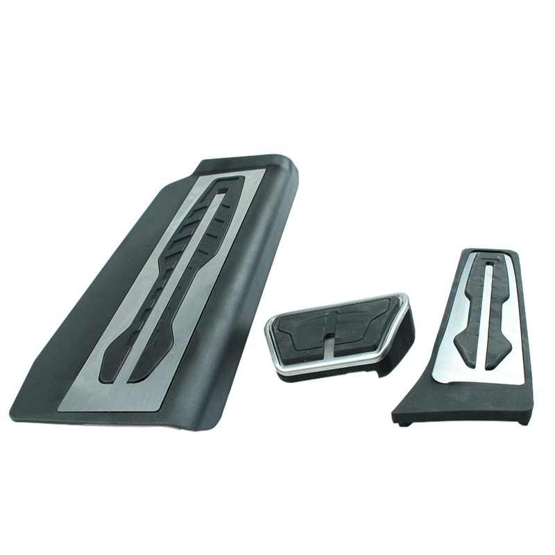 Car Accessories for BMW 7 series 730d 730Li 740le 750Li 2016 2017 in Fuel Gas of the FOOTREST Plate brake pedal Pad