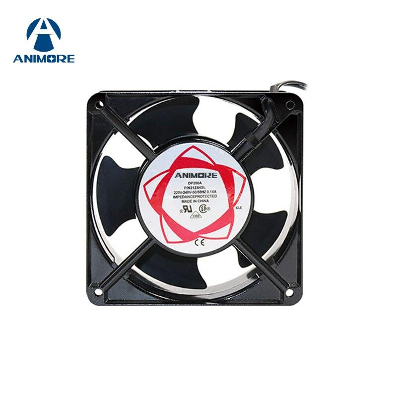 ANIMORE Ventilatore Ventola A Basso Rumore Ventole Assiale 220 v 120X120X38mm Ventola Di Raffreddamento Uso Per Ozonizzatore accessori di Saldatura di Stagno Ventola di Scarico