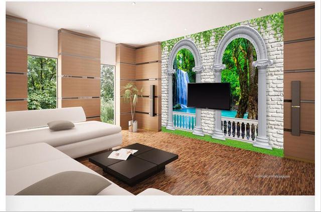 aliexpress : maßgeschneiderte 3d wallpaper 3d wandbilder, Wohnzimmer