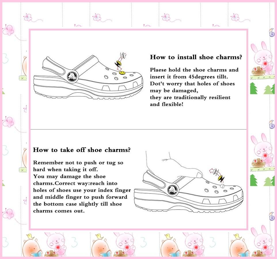 無料 Dhl/EMS 1000 個 Moana トロールアベンジャーズミッキー Pvc 靴の魅力バックルフィットブレスレットワニ JIBZ 靴 ormaments  グループ上の 靴 からの 靴 装飾 の中 2