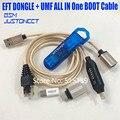 2019 Nieuwste 100% Originele GEMAKKELIJK FIRMWARE TEMA/EFT DONGLE + UMF alle boot Kabel (alle In Een Boot kabel) gratis Verzending