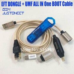 2019 mais novo 100% original fácil firmware tema/eft dongle + umf todo o cabo de inicialização (tudo em um cabo de inicialização) frete grátis