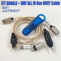 2019 nuevo 100% Original fácil FIRMWARE TEMA/EFT DONGLE + ufm todo el Cable de arranque (todo en uno arranque cable) envío Gratis