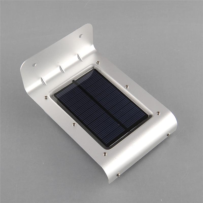 4PCS/LOT LED Solar Sensor Light 16 LEDs Outdoor Wireless Solar Powered PIR Motion Sensor Light/ Wall lamp/ Security lights