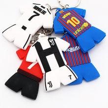 Soccerwe Cartoon Ronaldo Messi Salah Pogba Kits Doll Kit Colors Loverly Figurine PVC Toy Decoration pvc cartoon comic doll