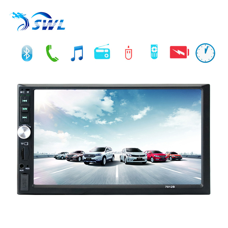 2 Din 7'' Inch LCD Touch Screen Autoradio Car Audio