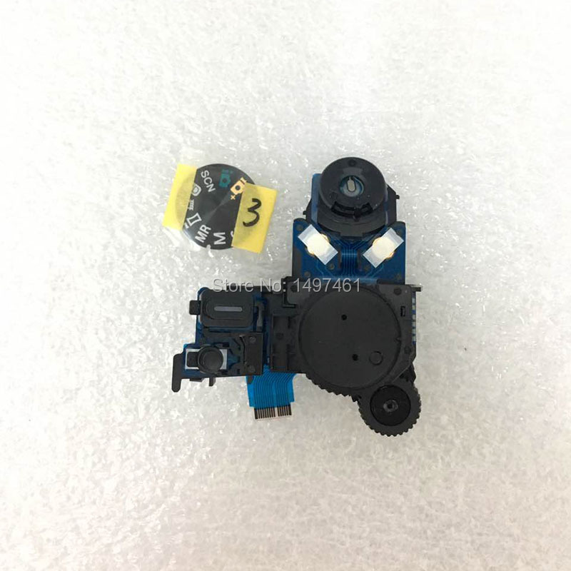 New operation mode dial switch group with button Repair Parts for Sony DSC HX300 HX300V Digital