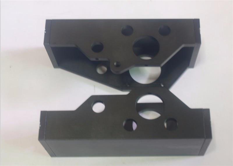 Reprap Lulzbot TAZ4_3D printer Parts metal aluminum alloy Z-motor mount left/right side kit
