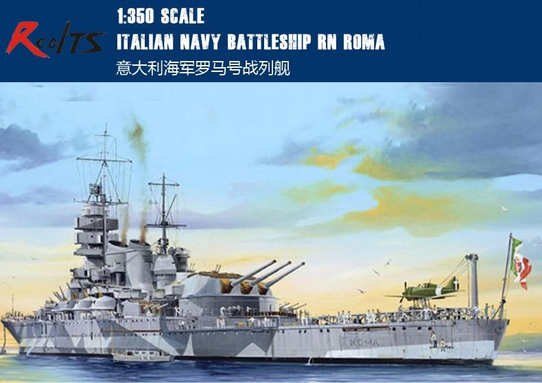 RealTS Trumpeter 1/350 05318 Italiaanse Marine Slagschip RN Roma model kit-in Modelbouwen Kits van Speelgoed & Hobbies op  Groep 1