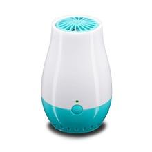 Generador de ozono portátil, purificador de aire recargable por USB para el hogar, limpiador de aire iónico de ozono, elimina el olor, humo, bacterias, ambientador de ozono