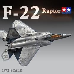 Kit de maquettes d'avion, US 1/72, Raptor, chasseur, assemblage de modèles Tamiya F-22 bricolage