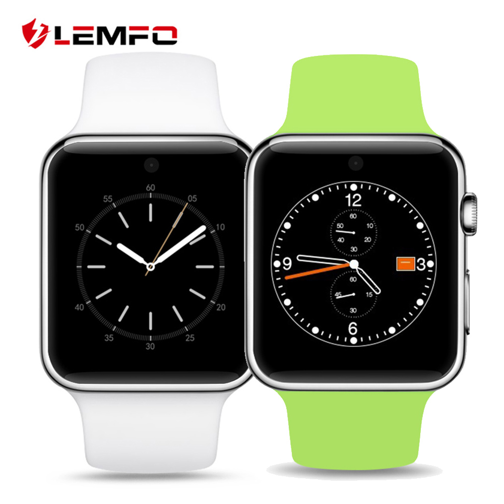 LF07 Smart Watch 2.5D ARC HD Screen Wearable Devices SmartWatch Support SIM Card MTK2502 OS For IOS Android Phone 2016 bluetooth smart watch dm09 hd screen support sim card wearable devices smartwatch for ios android pk dm08 gt08 dz09