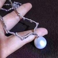 Yinkuan ожерелье естественный пресноводный жемчуг 10 11 мм Круг Sautoir Оптовая MS ярким и безупречным