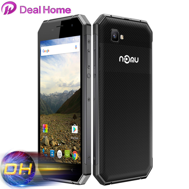 "5.5"" FHD Nomu S30 Mobile Phone MTK6755 Octa Core 2.0Ghz 4G RAM 64G ROM 13MP Camera 5000mAh Big Battery Nomu S30 Cellphone"