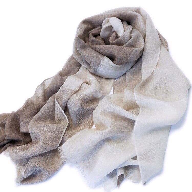 Большой размер 100% козья шерсть Кашемир Женская мода пэчворк Тонкие шарфы шаль Пашмина 90x200 см маленькая кисточка розничная смешанная оптова